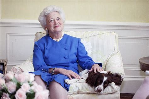 Marvelous St George Episcopal Church #2: 4B5CCDE400000578-5639239-First_lady_Barbara_Bush_poses_with_her_dog_Millie_in_Washington_-a-124_1524250166554.jpg
