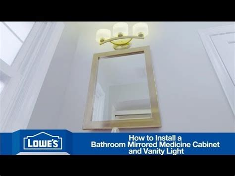 how to mount a bathroom mirror how to install a bathroom vanity mirror light youtube