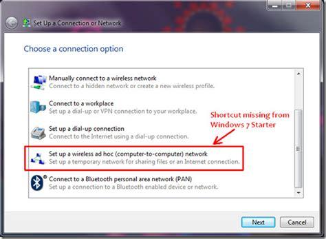 Vista Tips Link Up by Creating An Ad Hoc Wireless Network Windows Vista