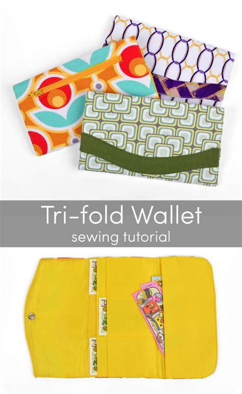 tri fold wallet card template 17 best images about sewing bags on bags