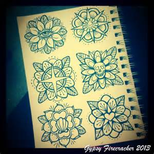 Getting some traditional flower designs together for a cutie flash