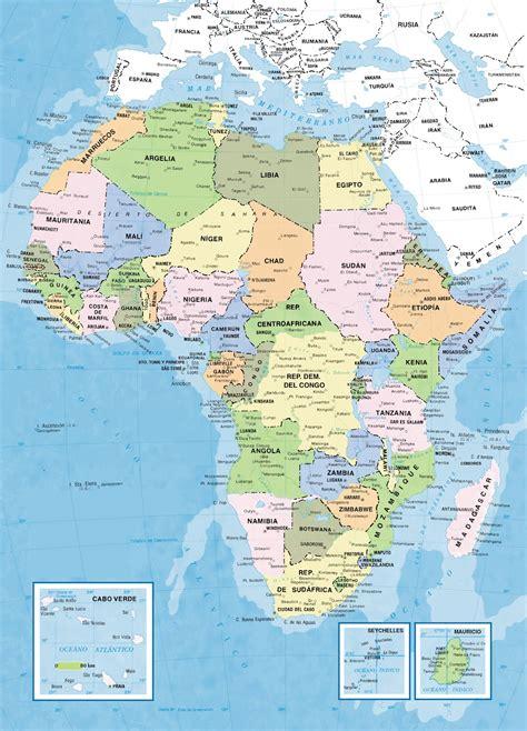 mapa dafrica politic hgcyc historia genealog 237 a ciencias y curiosidades mapa
