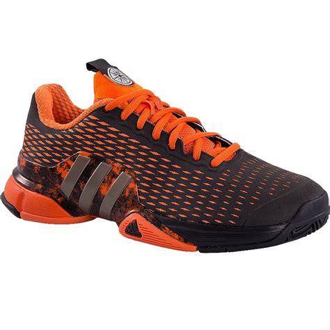 adidas barricade 2016 s tennis shoe orange black