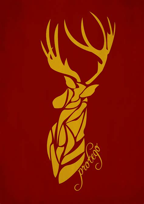 harry potter designs harry potter patronus minimal design on behance