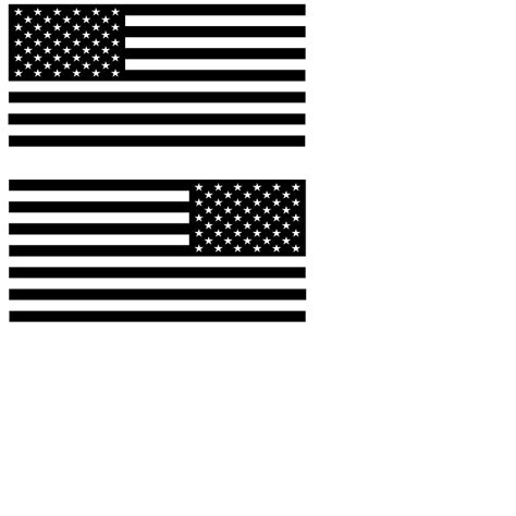 jeep american flag decal american flag large decal mirror imaged set