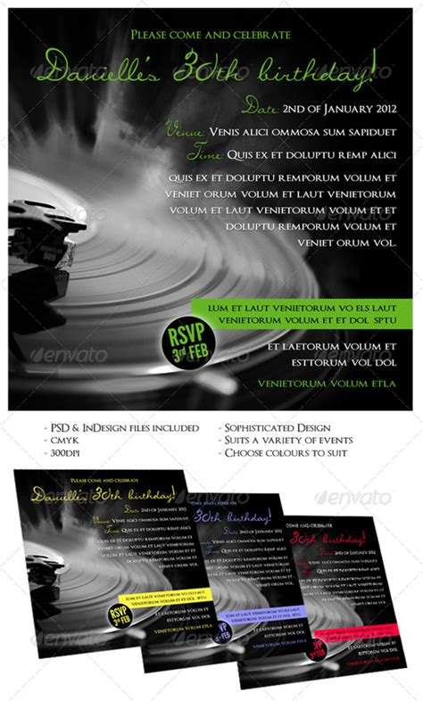indesign poster template 16 fantastic indesign flyer templates