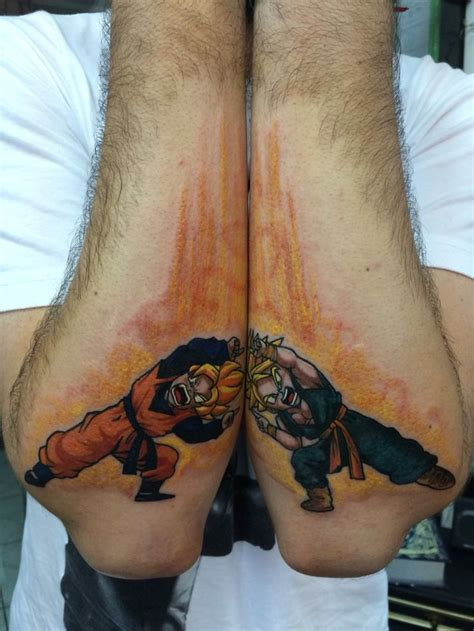 dbz tattoos by suli 233 e pepper fusion