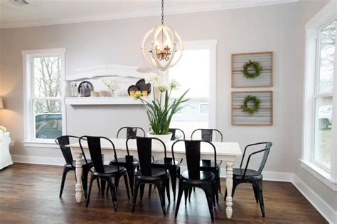 15 dining room decorating ideas hgtv wall art ideas from chip and joanna gaines hgtv s fixer