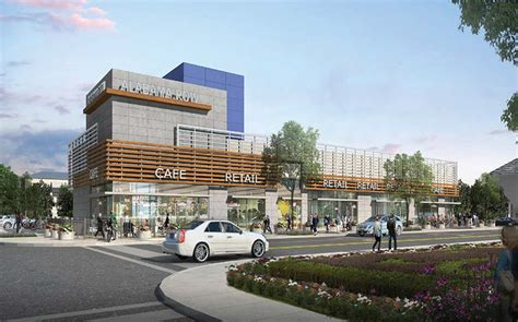 home design and outlet center new modern shopping center wants to cozy up to the corner