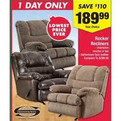 best buy black friday deals kohls simmons rocker recliners thanksgiving at big lots black