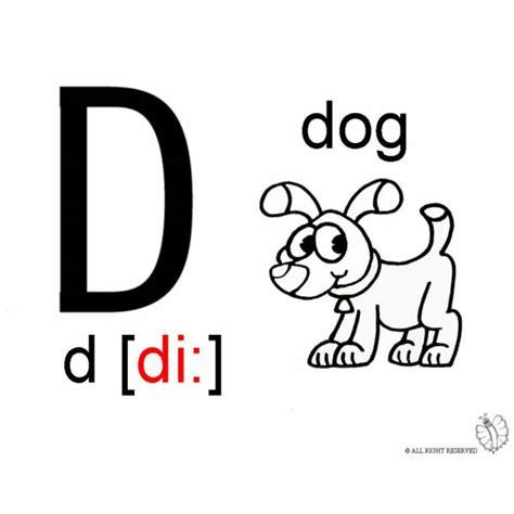 disegni lettere alfabeto per bambini disegno di lettera d alfabeto inglese da colorare per