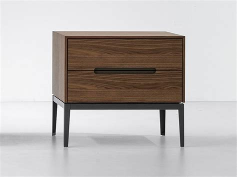 two drawer bedside table bonaldo gala two drawer bedside table by mario mazzer