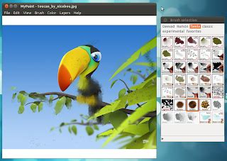 a professional digital painting software for ubuntu linux