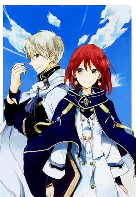 imagenes de zen y shirayuki akagami no shirayukihime google search akagami no