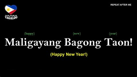 words in tagalog filipino quot happy new year quot in tagalog