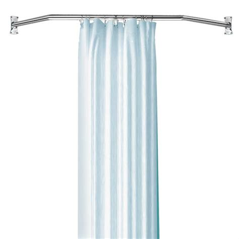 angled shower curtain rod neo angle shower rod package kn533 clawfoot tubs and