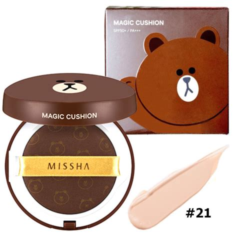 Harga Cushion Missha No 21 missha x line friends m magic cushion korea plaza