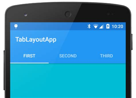 tab layout xml android tablayout android design support library