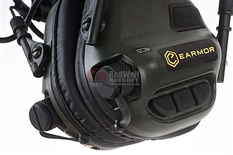 Earmor M31 Electronic Hearing Protector earmor tactical hearing protection ear fg buy airsoft accessories from redwolf