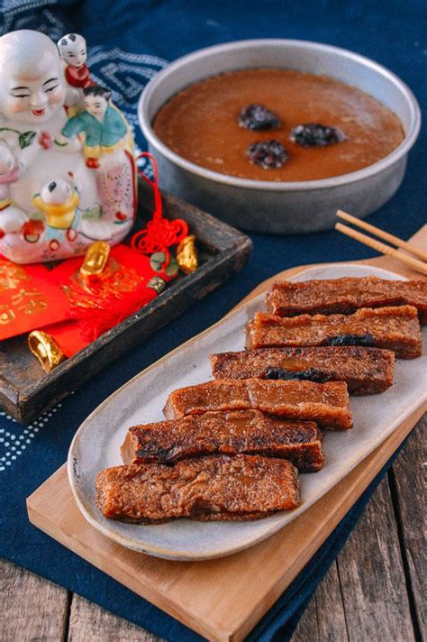 new year rice flour cake new year sweet rice cake nian gao recipe