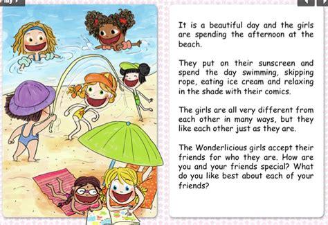 printable short story kids