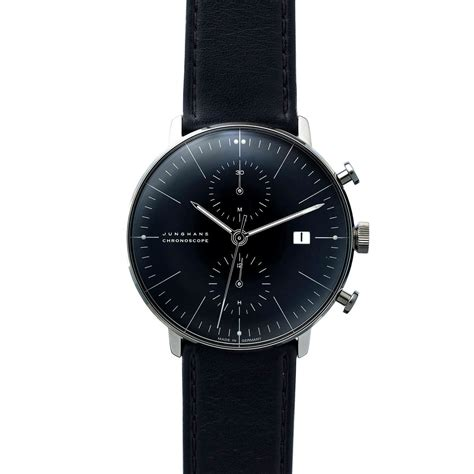 max the junghans max bill chronoscope www imgkid the image kid has it