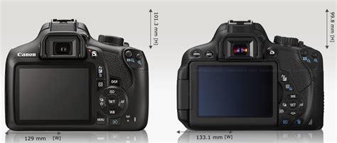 Kamera Canon Eos 650d Baru canon 1300d vs canon 650d 700d