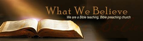 What We Believe about us church of faith center