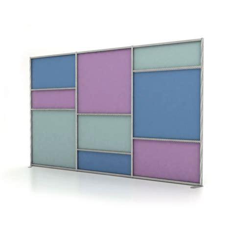 parete divisoria mobile parete divisoria mobile colorata tetrix autoportante