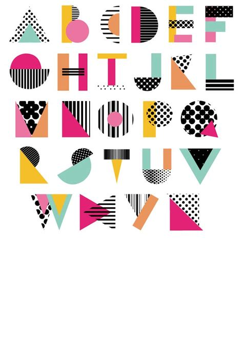 geometric pattern font best 25 geometric font ideas on pinterest handwriting