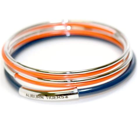 auburn football fan gear auburn tigers inscribed bangle set florida state