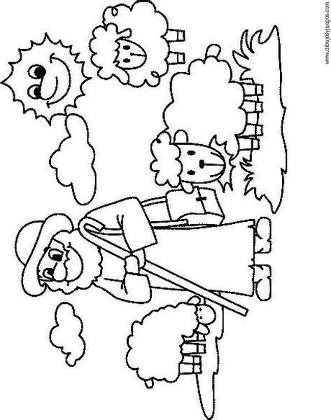 dibujo-de-oveja-011 | Dibujos y juegos, para pintar y colorear