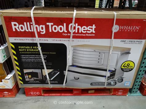 costco rolling tool bench whalen storage rolling tool chest