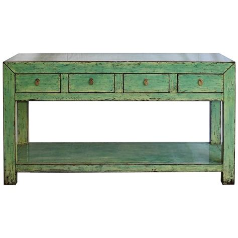 green sofa table green console table for sale at 1stdibs
