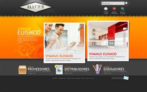 home decorator websites web design for haceb home by camilojones on deviantart