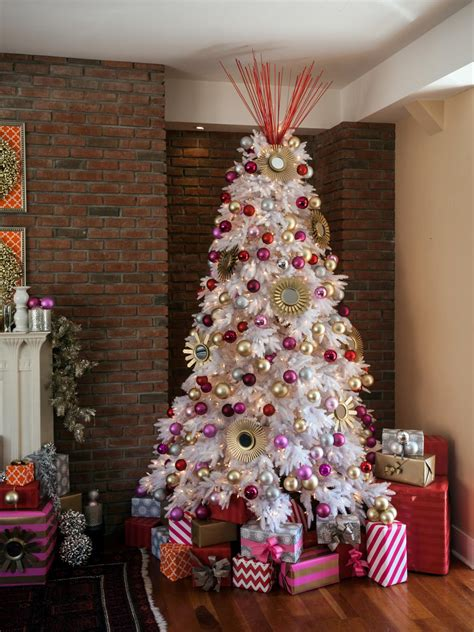 decorating for christmas with gold blue and gray how to decorate a tree hgtv s decorating design hgtv