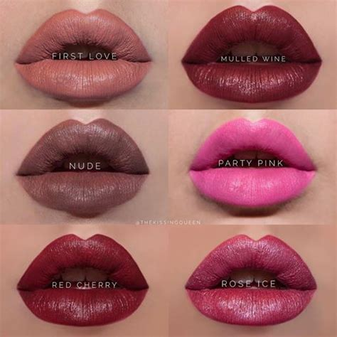 lipsense lip color matte lipsense colors lipsense makeup