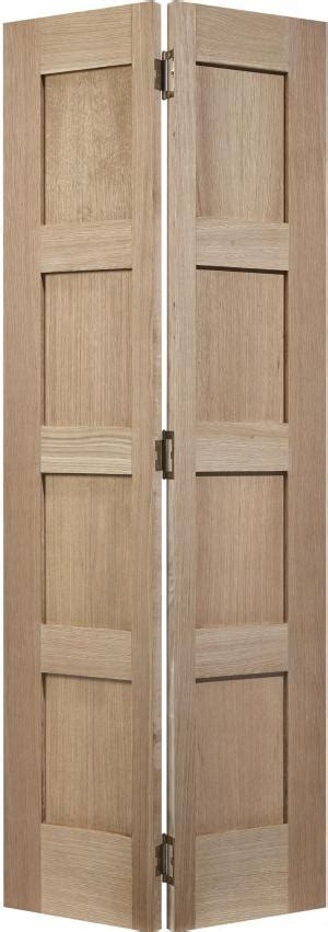 4 Panel Bifold Closet Doors by Lpd Oak Shaker 4 Panel Bifold Doors