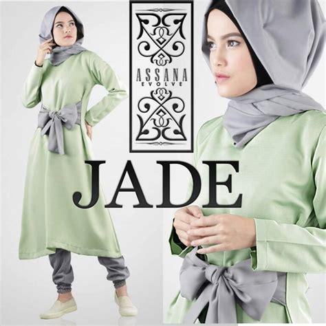 Preloved Celana Katun Orange Fit To L Pinggang Karet jade green baju muslim gamis modern