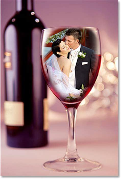 wedding couple in wine glass photoshop tutorial