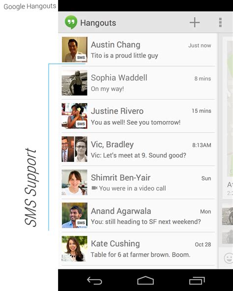 hangouts apk hangouts apk v2 0 012 with sms support location and animated gifs support