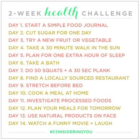 the health challenge a health challenge be up doing
