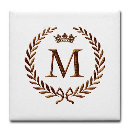 Initial M 1000 ideas about m monogram on silverware