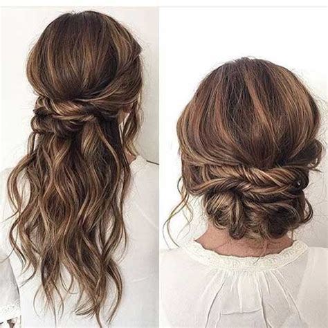 easy casual hairstyles how to 20 stylish easy updos for long hair crazyforus