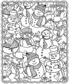 winter coloring pages for adults 21 printable coloring pages