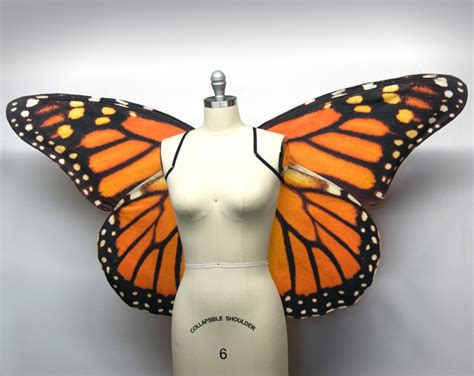 New Produk 43511 Dress Butterfly wings large monarch butterfly costume wings butterfly