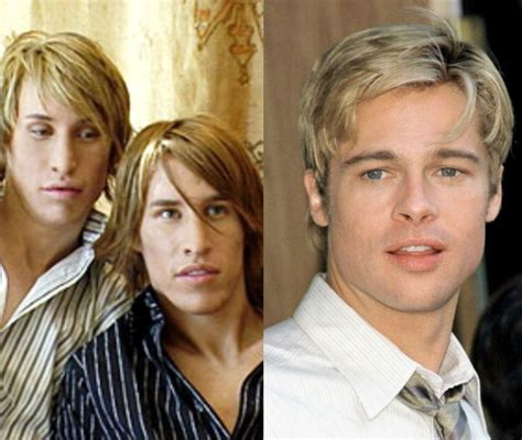 Brad Pitt And Turn Their Noses Up To The Oscars by These Identical Spend 20 000 On Plastic Surgery To