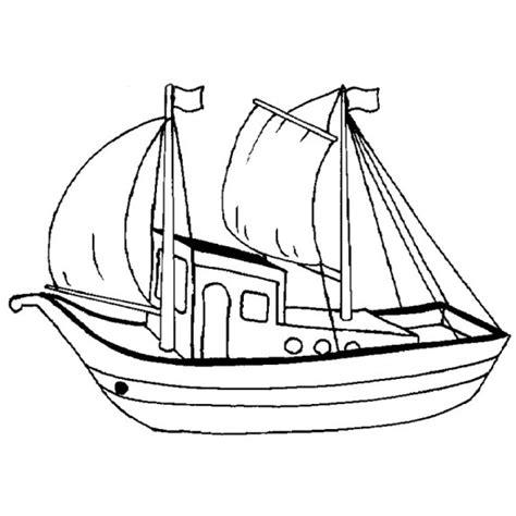 bateau mouche halloween coloriage bateau a voile 224 imprimer
