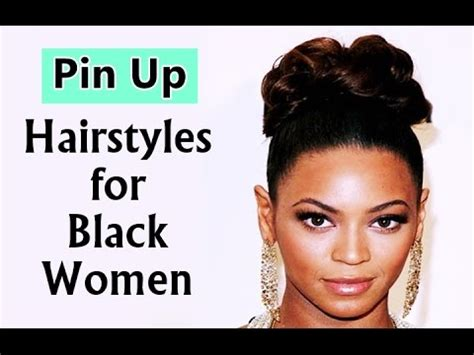 Black Pin Up Hairstyles by Pin Up Hairstyles For Black