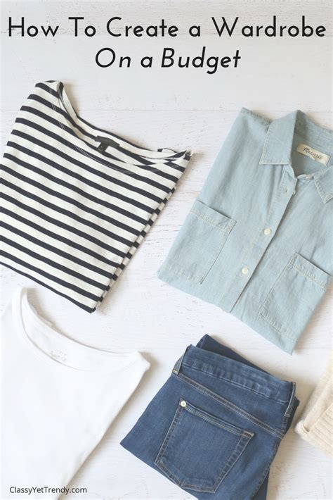 New Wardrobe On A Budget by How To Create A Wardrobe On A Budget Yet Trendy